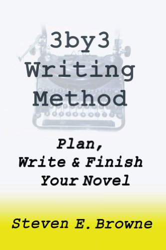The 3by3 Writing Method - Plan, Write & Finish Your Novel - Kindle Workbook