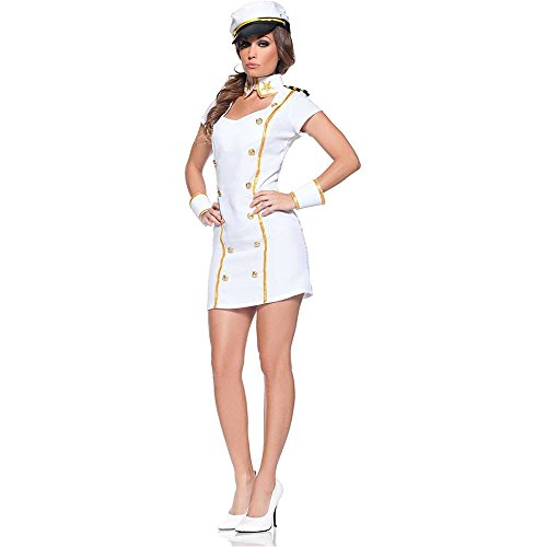 Navy Admiral Sexy Adult Costume