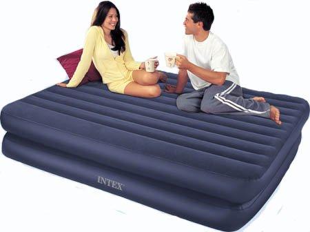 intex self inflating air mattress instructions