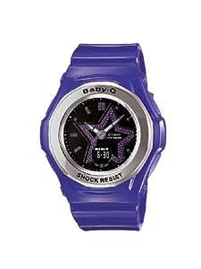 Casio - BGA-103-6BDR - Montre Femme - Quartz Analogique et Digital - Alarme - Chronographe - Eclairage - Bracelet Résine Violet