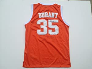 Texas Longhorns KEVIN DURANT Signed Autographed Jersey COA by Basketball