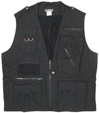 Photo Journalist's Vest - Black, Small