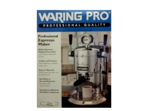 waring espresso machine