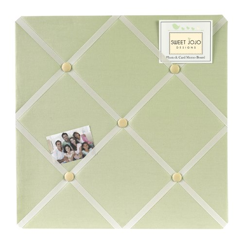 Green Dragonfly Dreams Fabric Memory/Memo Photo Bulletin Board - 1