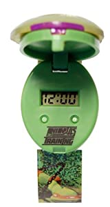 Teenage Mutant Ninja Turtles Boy's Quartz Watch with LCD Dial Digital Display and Multicolour Plastic Strap TUR43