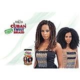 Freetress Equal Synthetic Hair Braids Havana Twist Style Cuban Twist