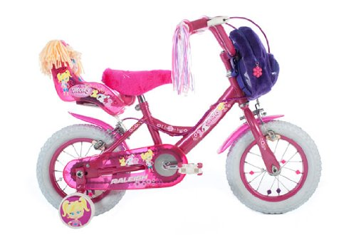 Raleigh Molly 12 inch Girls Bike With FREE Dolly 2012 Model