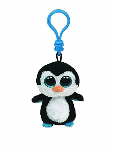 Ty Beanie Boos Waddles - Penguin Clip - 1