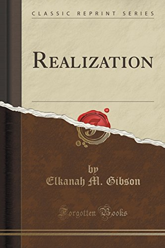 Realization (Classic Reprint)