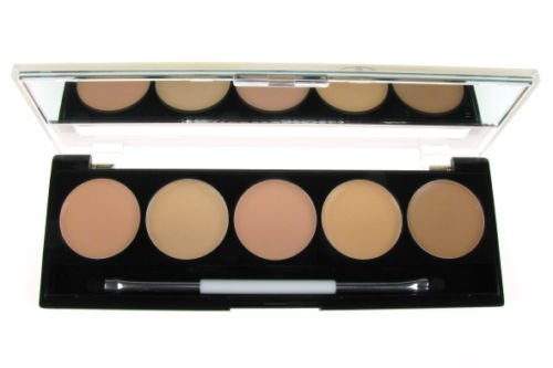 Camouflage Consealer Palette Kit - 5 Shades In 1 Palette - Light To Medium Skintones