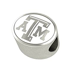 Texas A&M Aggies Charms Fit Most Pandora Style Bracelets