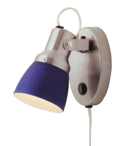 Good Earth Plug-In Chalet Wall/Floor Spot Lamp