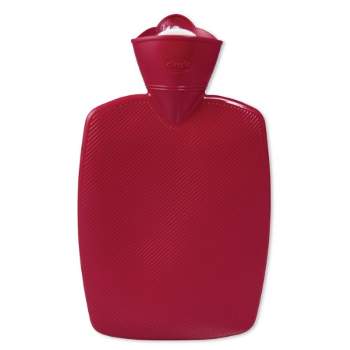 Warm Tradition Red Classic Hot Water Bottle - Made In Germany