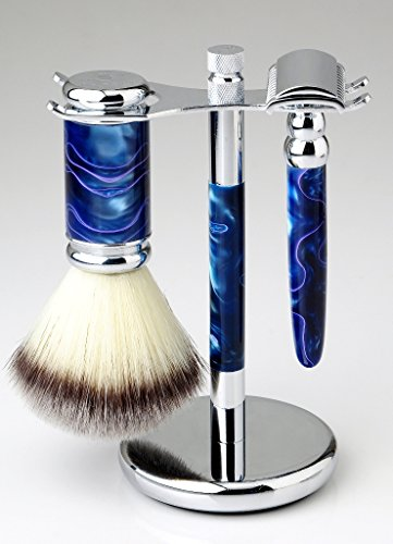 Platinum 73 Razor comes with Matching Stand & Brush, 10 Topaz Blades, & Free Shipping! A $35 Value! (Razor Platinum compare prices)