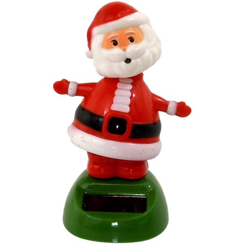 Solar Power Motion Toy - Santa Claus