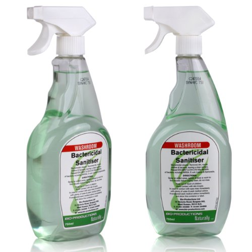 6-pack-of-bactericidal-sanitiser-cleaner-mildew-bacteria-mould-remover-750ml