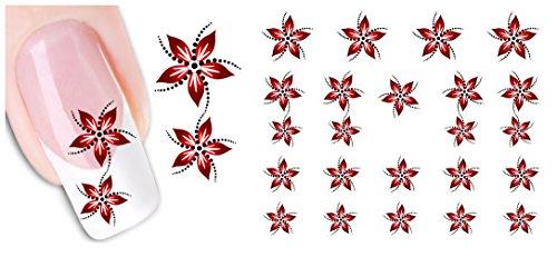 Decalcomanie Di Ogni Genere; Stampate Unghie, AIMEILI Adesivi Di Unghie Decorative Elegante DIY Nail Arte