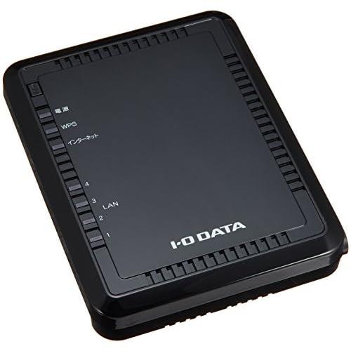 I-O DATA 11n/b/g対応 無線LAN親機(Wi-Fiルーター) 300Mbps WN-G300R2