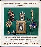 img - for Nineteenth & Early Twentieth Century Works of Art: Art Nouveau, Art Deco, Porcelain, Studio Pottery, Sculpture, Decorations, Furniture: Public Auction: Thurs, April 18, 1974, 2:00 pm, Friday, Apri book / textbook / text book