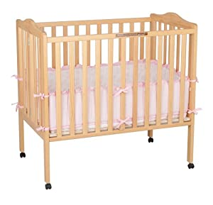 Delta Portable Mini Crib Natural Discontinued By Manufacturer Baby