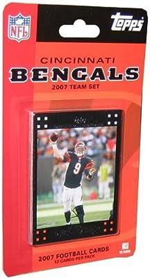 Topps NFL Football Cards 2007 Cincinnati Bengals Team Set