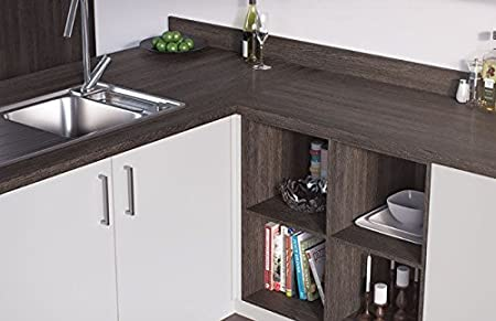 Egger Contemporary Mali Wenge Wood Effect Kitchen Bathroom Laminate Worktop Offcut Work Surface 40mm Breakfast Bar - 3m x 670mm x 38mm Breakfast Bar