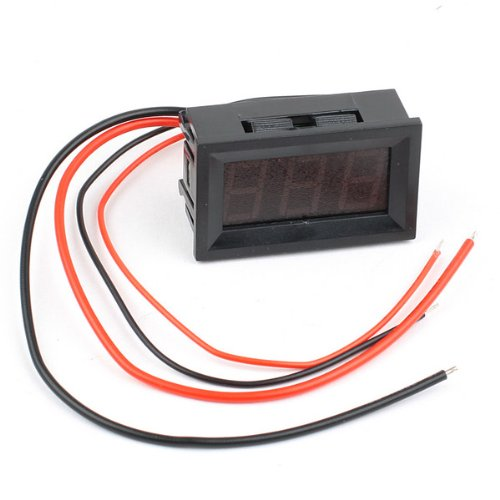 BestDealUSA LED Digital Ammeter AMP Mini Current Panel Meter DC 0-9.99A