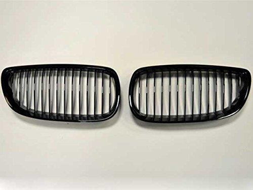 BMW E90E92E93M3Limo Limousine Coupe Cabriolet Nieren Grill Gitter schwarz glänzend
