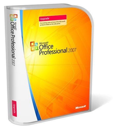 Microsoft Office Professional 2007 - Ensemble De Mise À Niveau De Version - 1 Pc - Cd - Win - English International - P