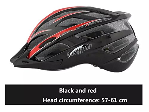 Rainbow flower Bicycle helmet integrally molded helmet riding a bicycle helmet mountain bike helmet riding equipment