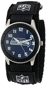 Game Time Mid-Size NFL-ROB-SEA Rookie Seattle Seahawks Rookie Black Series Watch