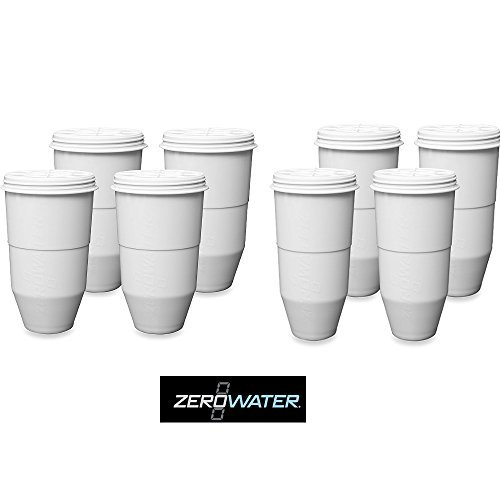 Zero Technologies ZR-008 5 Stage Ion Exc. Filter 8 pck (Filter Zero Water compare prices)