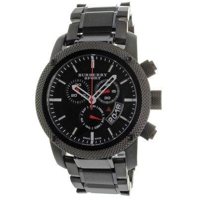 Sport Men's Chronograph Watch Color: Black / Grey
