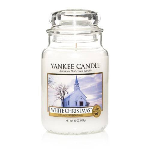 White Christmas - 22 Oz Large Jar Yankee Candle