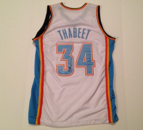 Oklahoma City Thunder HASHEEM THABEET Signed Autographed Jersey COA at Amazon.com