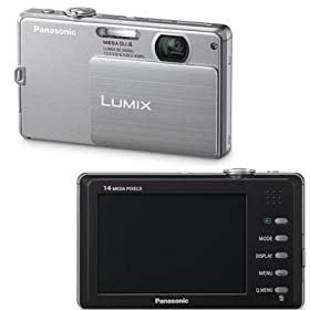 Panasonic Lumix DMC-FP3 14.1 MP Digital Camera with 4x Optical Image Stabilized Zoom and 3.0-Inch Touch-Screen LCD (Silver)