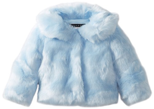 #1 Biscotti Baby-Girls Infant Spot On Faux Fur Jacket, Blue, 9 Months  Review