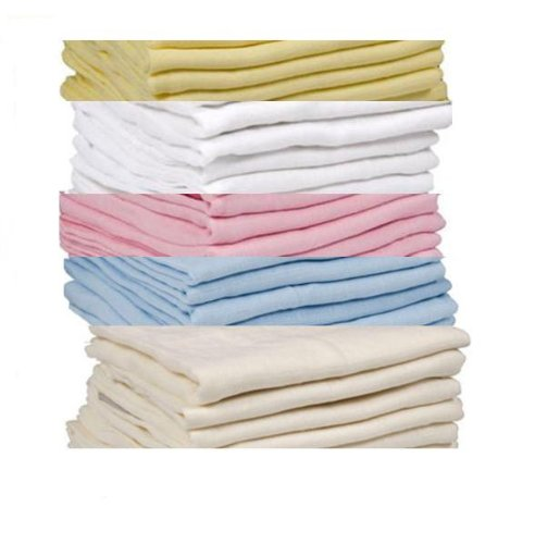6-x-SUPREME-QUALITY-MUSLIN-SQUARES-100-COTTON-72X-72CM-PLEASE-CHOOSE-THE-COLOURS-FROM-THE-OPTION