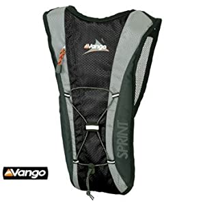 Vango Sprint 3L Hydration Pack (Black)