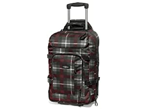 Eastpak valise hicks 55 cm 38 litres gris vivid rush for Eastpak carreaux