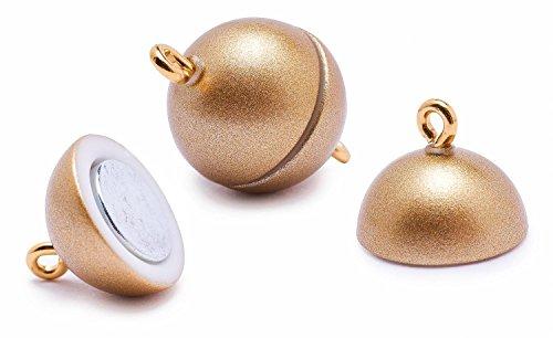 Power Magnetverschluss, Ø 12mm Gold