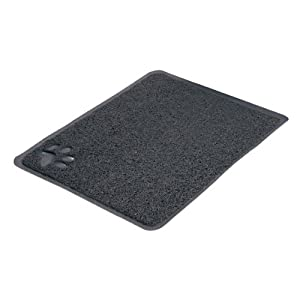 Trixie Cat Litter Tray Mat, 37 Ã -  45 cm, Anthracite