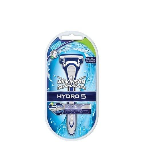Wilkinson Rasoio Sword Hydro 5 + 2 lame di ricambio