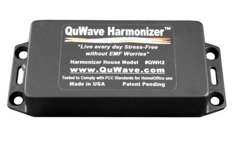 Quwave Home Harmonizer Scalar Energy Producer For Home Protection, Superior Emf Protection Shield. Protective Scalar Field Enhances Mental, Physical Performance, Fights Stress, Illness, Negative Energies, External Forces. Quantum Zero Point Generator. Cre