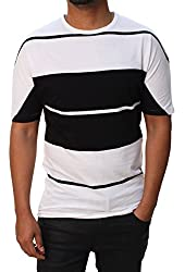 French Connection Men's Aster Stripe Short Sleeve Dean T-Shirt