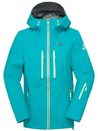the north face free thinker jacket T0A7GOA5L ski hooded coat (large, borealis blue)