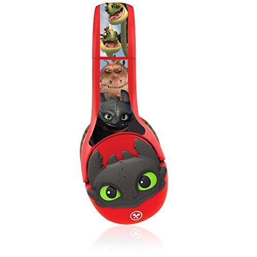 headphone wrap 3d kinabis   how to train your dragon