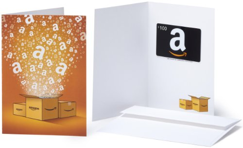 Amazon.com Gift Card - $100 (Generic design)