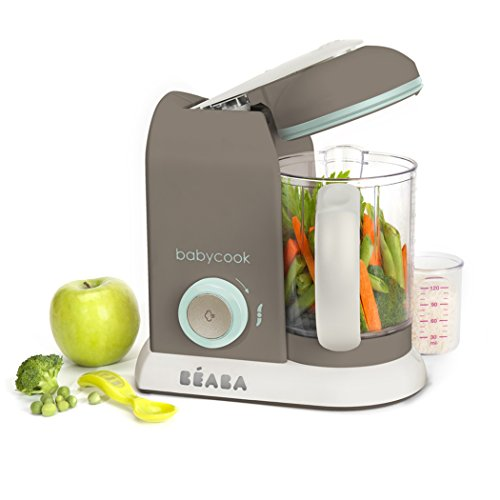BEABA Babycook Pro- Dishwasher Safe Baby Food Maker-Cooks & Processes