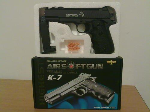 K-7 Metal Edition Airsoft Gun